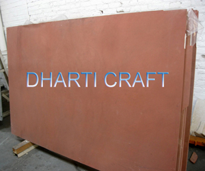 Dholpur stone tiles, Red Agra Sandstone used for patio paving