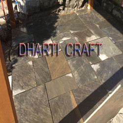 charcoal paving slabs are blackish grey sandstone for exterior paving