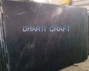 Polished soapstone black color slab for wall and floor