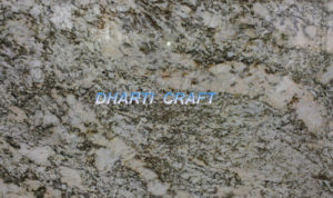 India Granite Delicatus white, white color granite stone with hues of grey, beige