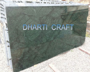 Green marble slabs Indian origin for marble flooring
