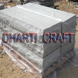 Grey color sandstone steps of Kandla Grey Sandstone