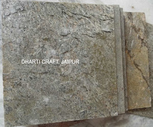 Green Gold flexible thin Slate stone veneer