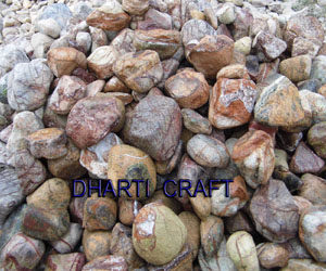 Rainforest Pebbles Brown color marble pebbles