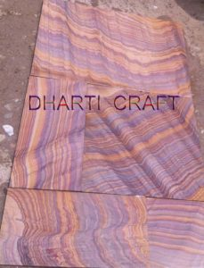 rainbow sandstone paving slabs are rainbow color stone for paving