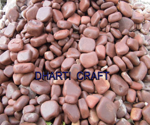 Red stone Garden Pebbles