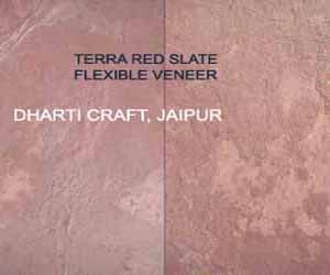 Copper Red Slate Stone veneer