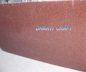 Jhansi Red Granite Tiles India